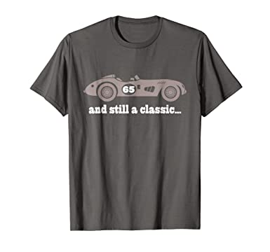 Mens 65th Birthday Shirts Gifts For Him Funny 65 Year Old Tee 2XL Asphalt