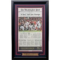 Washington Nationals Framed World Series Champions October 31 Washington Post Cover At Last
