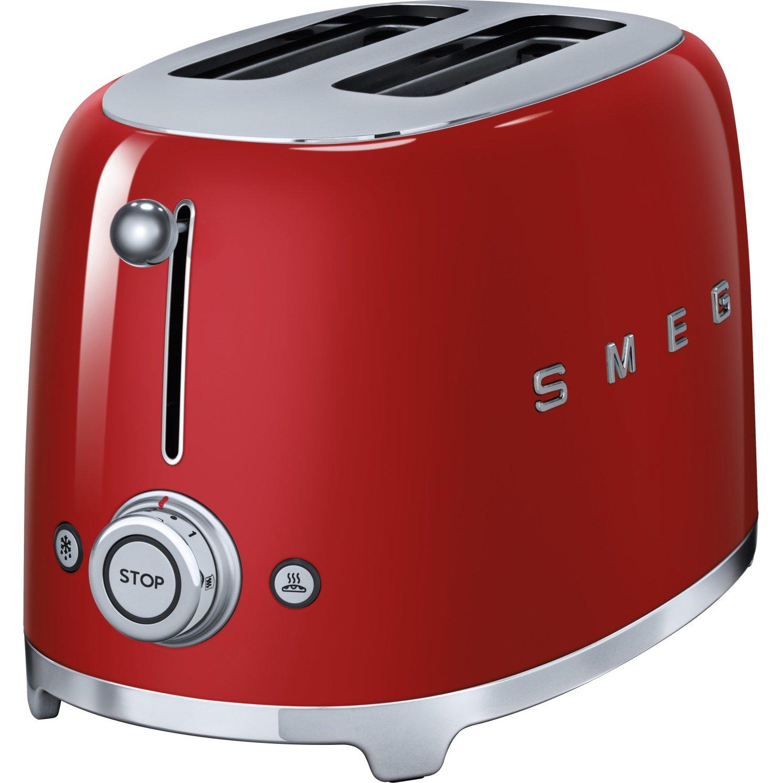 Smeg TSF01BLUK Retro Black 2 Slice Toaster