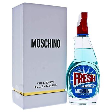 Moschino Fresh Couture Eau De Toilette Spray, 3.4 Ounce