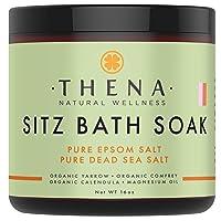 Best Organic Sitz Bath Soak For Postpartum Care Recovery & Natural Hemorrhoid Treatment...