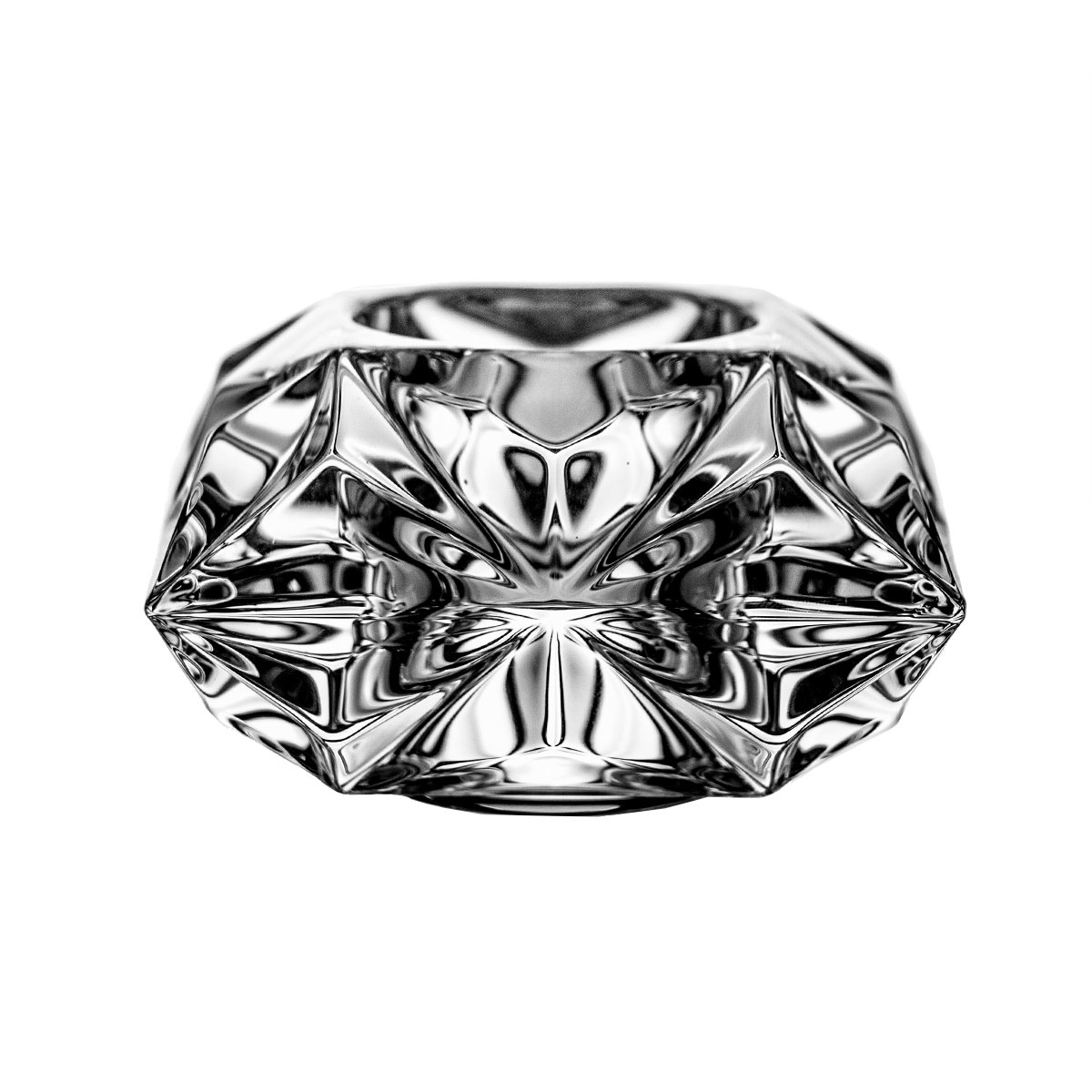 7x7x8 cm Crystaljulia Candelero Cristal