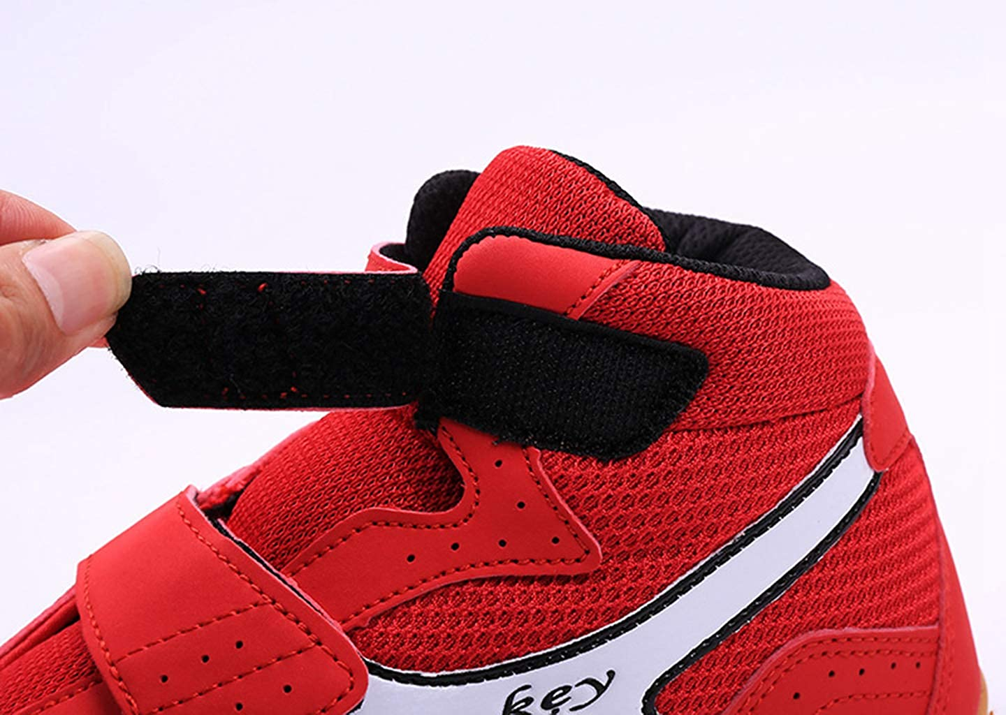 Day Key Breathable Wrestling Shoes Boxing Shoes for Men Women Kids Boys and Girls