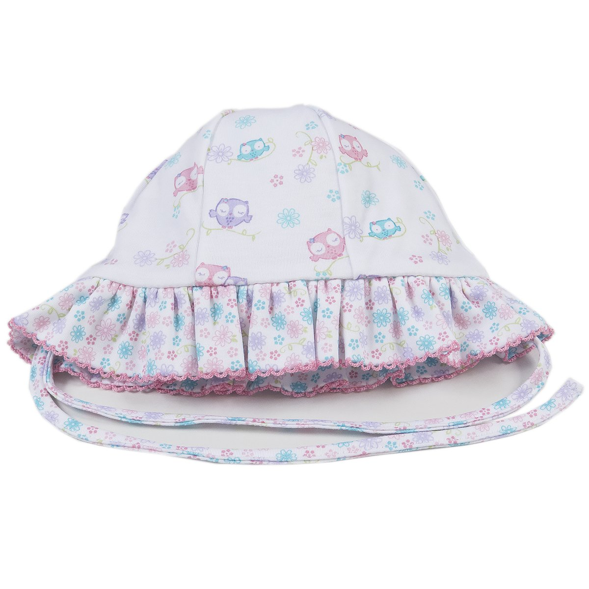 Kissy Kissy Baby Girls What A Hoot Reversible Floppy Hat