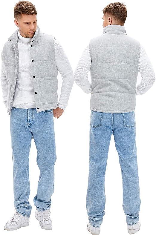ダウンベスト メンズ 中綿ベスト 無地 立ち襟 欧米風 大きいサイズ XS-5XL 秋 冬 春 コットン