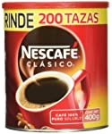 Nescafé Clásico Café Soluble, 400 gramos