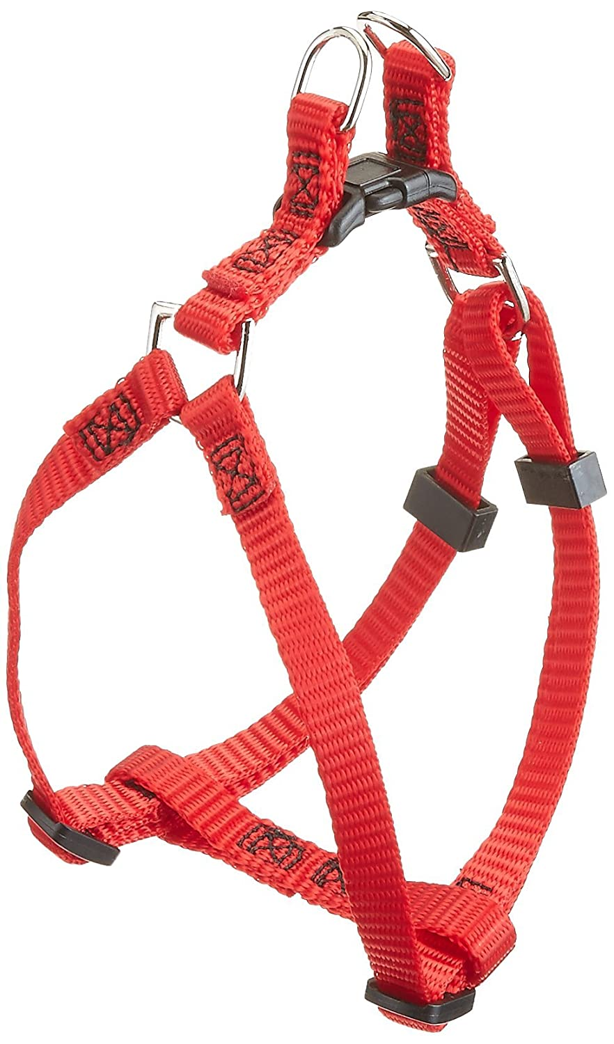 Red Small Red Small Majestic Pet 9-Inch to 15-Inch Step In Harness, Red, Small, 10-45-Pounds dog