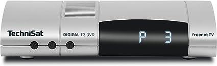 Technisat Digipal T2 Dvr Dvb T2 Hd Receiver Pvr Aufnahmefunktion Hdtv Kartenloses Irdeto Zugangssystem Für Freenet Tv 12 Volt Silber Heimkino Tv Video