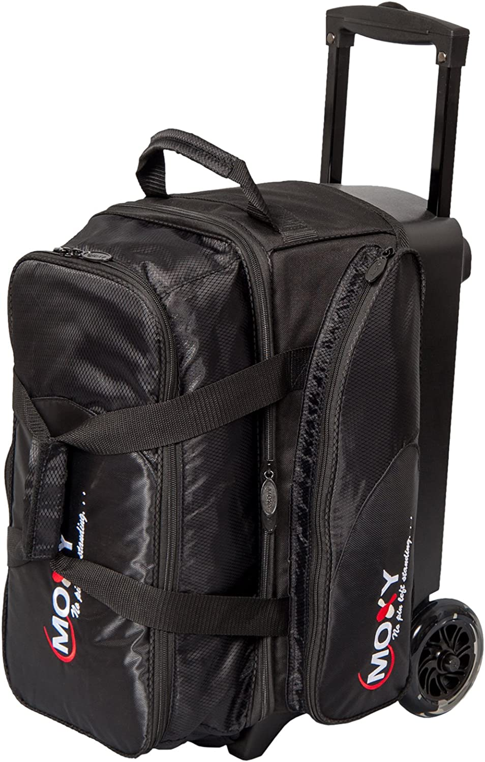 Black Moxy Bowling Products Blade Premium Double Roller Bowling Bag