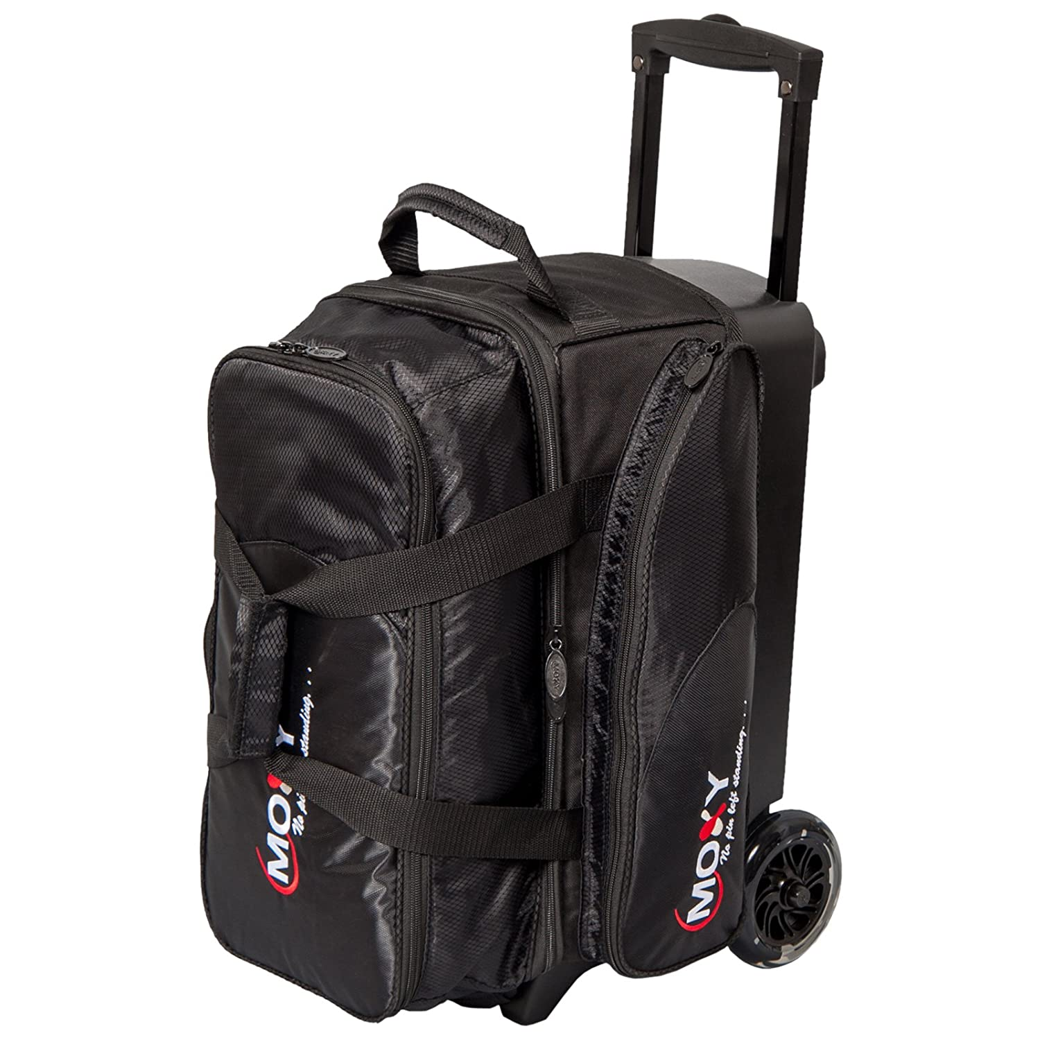 Amazon.com   Moxy Bowling Products Blade Premium Double Roller Bowling Bag-  Black   Sports   Outdoors fb101b5b5c