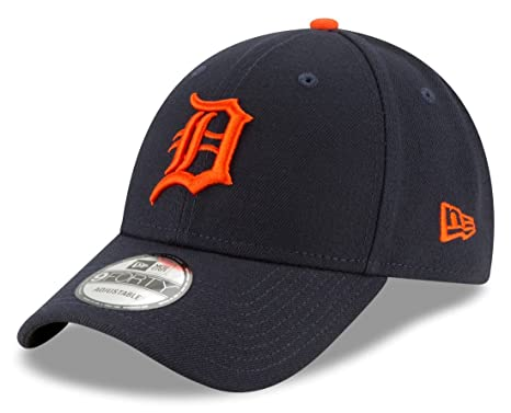 Image Unavailable. Image not available for. Color  New Era Detroit Tigers  MLB 9Forty The League Road Adjustable Hat d1f089835d3
