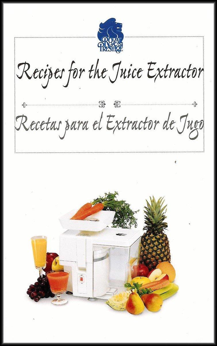 Recipes for the Fruit and Vegetable Juice Extractor/Recetas para las Frutas y Hortalizas Licuadoras [Bilingual English/Spanish] Paperback – 2005