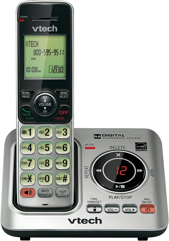 VTECH CORDLESS W/ ANSWER MACHINE (CS6629) -