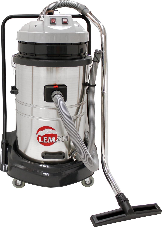 Leman ASP701 - Aspiradora (2000 W, Aspiradora de tambor, Bolsa para el polvo, 70 L, Acero inoxidable, Ciclónico): Amazon.es: Bricolaje y herramientas
