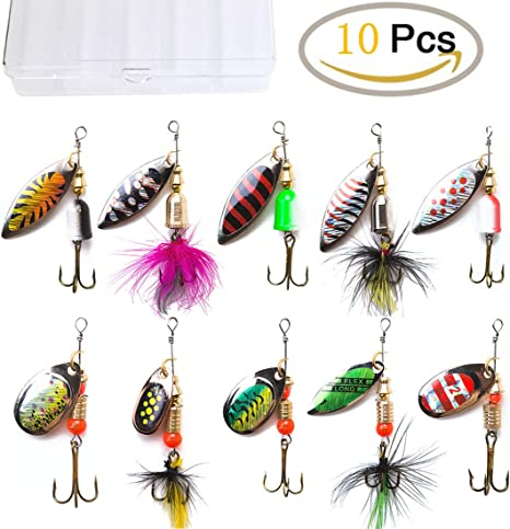 fishing lure for Pike Bass SpinnerBait Walley Musky