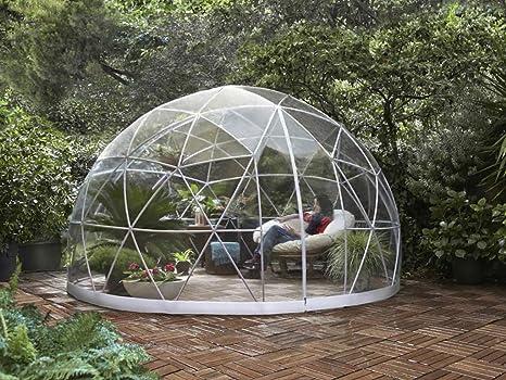 Garden Igloo Abri Bulle De Jardin Et Spa 360x220cm Amazon