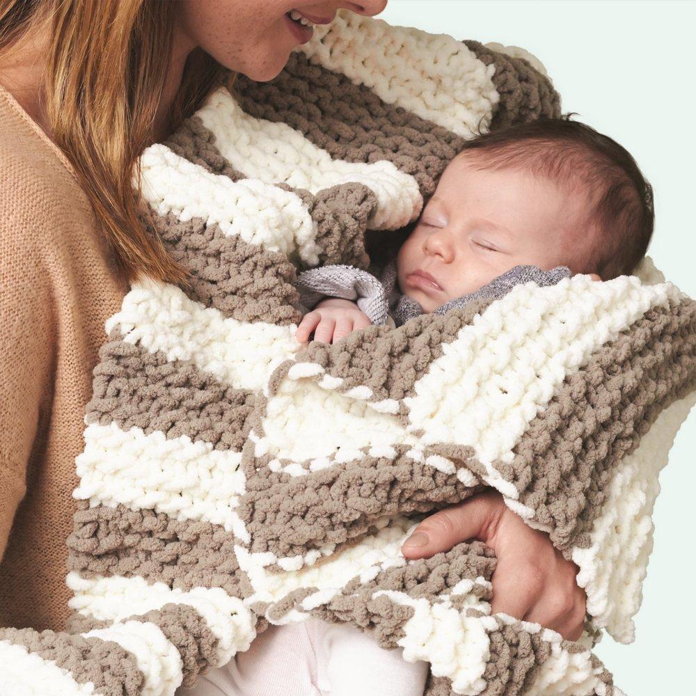 Baby Peach Spinrite BERNAT Baby Blanket Yarn