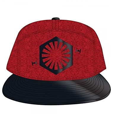60e5ab40a56 Image Unavailable. Image not available for. Color  Star Wars  The Last Jedi  - First Order Snapback Hat Size ONE SIZE