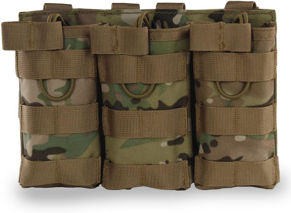 Hotour Airsoft Molle Vest Bag - Bolsa táctica para revista AR M4 M16 HK416