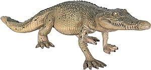 Design Toscano The Grand-Scale Wildlife Animal Collection: The Walking Crocodile Statue,Multicolored
