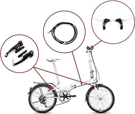 VGEBY V Bremsgriffhebel Ultraleichtes CNC-Fahrrad V Bremsgriffhebel Fahrradzubeh/ör f/ür klappbares Rennrad