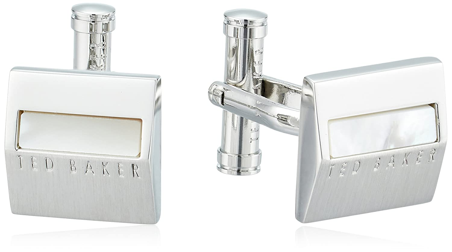 ted baker men's starmi semi precious shaped cufflinks White One Size XA7M-XC07-STARMI