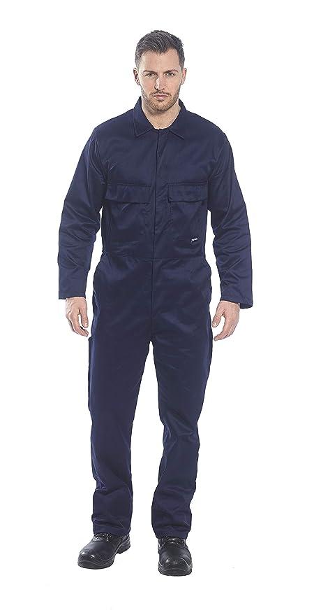 2XL x Long//Azul marino Mono de trabajo polyalgod/ón Modelo EURO S999 Portwest Ropa de trabajo hombre//caballero