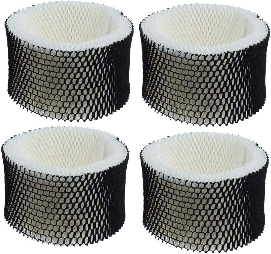 TANBOOM Humidifier Filters Replacement for Holmes Filter A, HWF62, HWF62S, HWF-62,Fit Holmes HM1761, HM1280, HM-1700, Sunbeam SCM1100 (4 Pack)