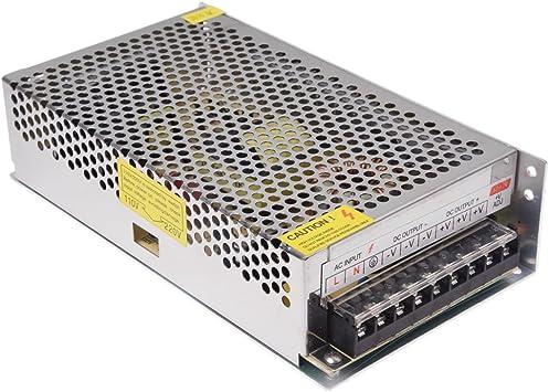 les ventes chaudes fournir un grand choix de meilleur service TOOGOO(R) LED Transformateur Electronique Transfo 300W 25A 220V AC Vers 12V  DC