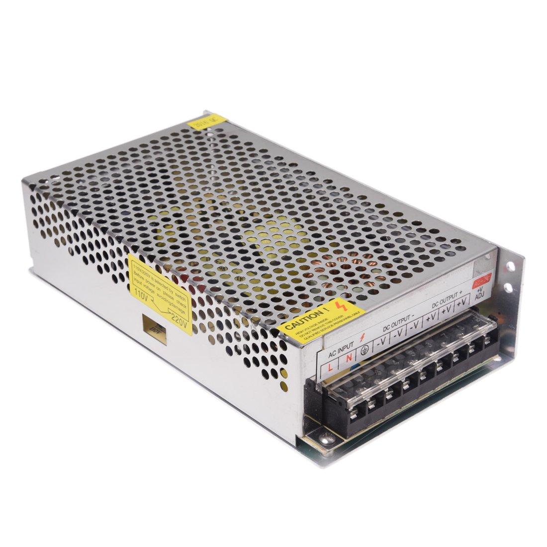 TOOGOO(R) LED Transformateur Electronique Transfo 300W 25A 220V AC Vers 12V DC 022881