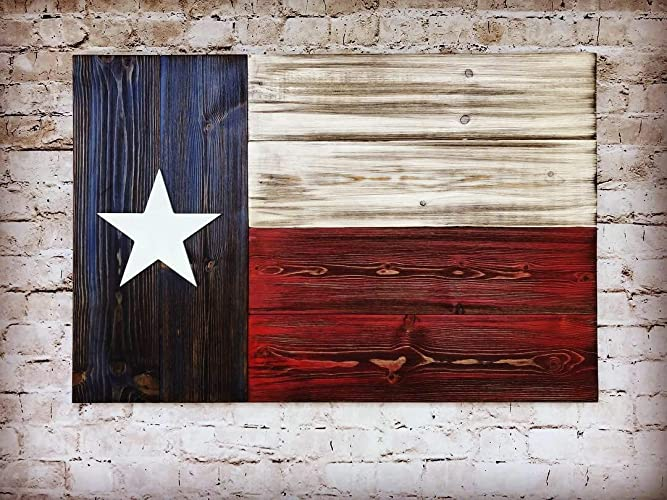 Texas Wooden Flag Wooden Texas Flag Wall Decor Texas State Flag On Wood Wall Art Texas Flag Decor Rustic Wood Texas Flag Usa Wooden