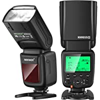 Neewer NW655 Flash Cámara Compatible con Sony, 2,4G TTL HSS 1 / 8000s GN60 Flash Inalámbrico Compatible con Sony a9 a7…