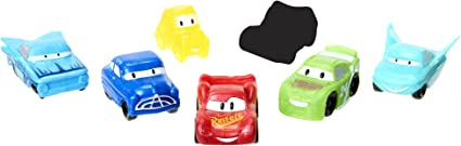 Ooshies Disney Pixar Cars 7 Pack Pencil Toppers 1 OF 3 IN THE COLLECTION