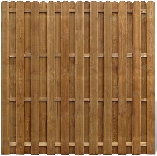 tiauant Bricolaje Vallas de jardín Paneles de Vallas Panel de ocultacion Vertical de Madera vallas0: Amazon.es: Jardín