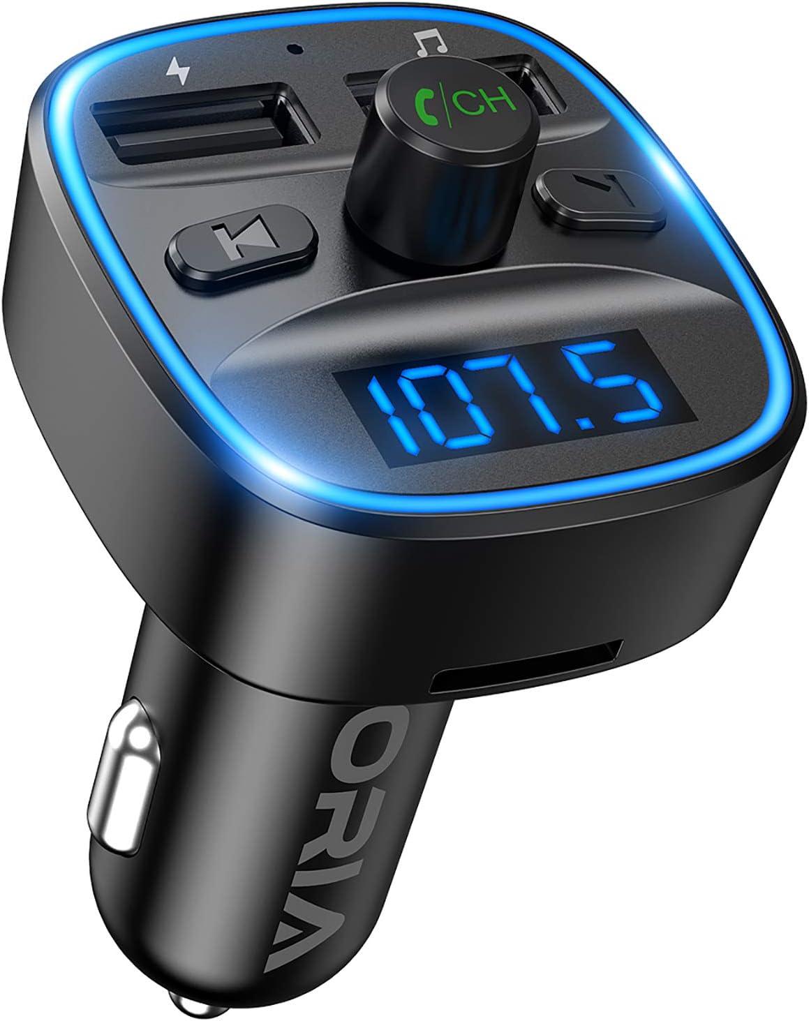 Neu Oria Bluetooth Fm Transmitter Kfz Auto Radio Elektronik