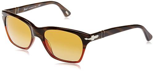 Persol 0Po3027S 953/85 53 Gafas de Sol, Rojo (Red/Brown ...