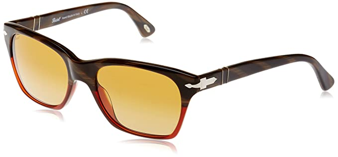 Persol 0Po3027S 953/85 53 Gafas de Sol, Rojo (Red/Brown ...