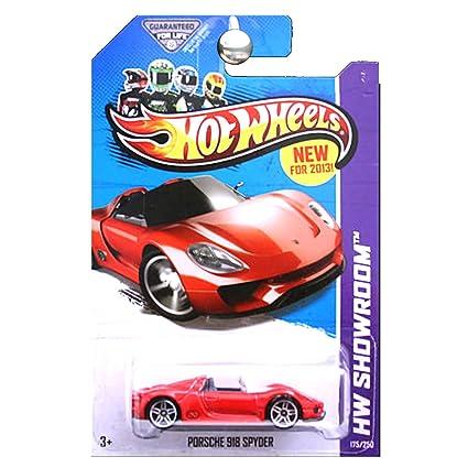 Buy Hot Wheels Hw Showroom 175 250 Red Porsche 918 Spyder Online At