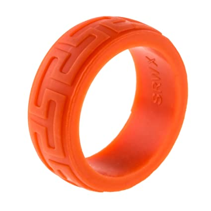 Plastic Wedding Bands >> Amazon Com Heavy Duty Silicone Wedding Ring Thickest Strongest