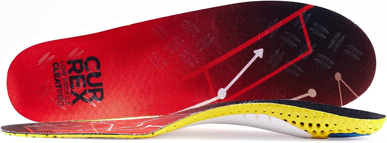 Tu nueva dimensi/ón en el f/útbol Plantilla de rendimiento din/ámico para calzado de f/útbol o de tacos. currex CleatPro plantilla