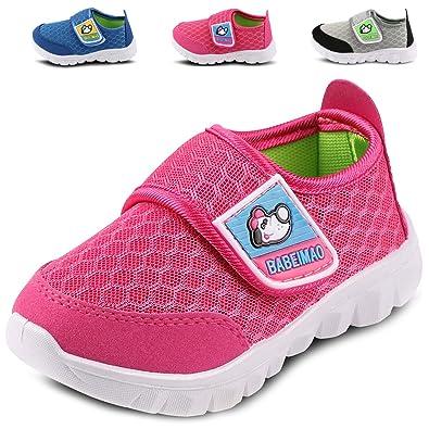 b85fd0e97 Femizee Toddler Boys Girls Lightweight Mesh Sneakers Kids Athletic Running  Shoes