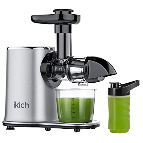 Ikich Slow Juicer 2-Speed Slow Masticating Juicer