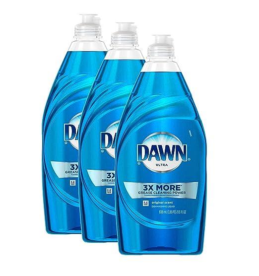 Dawn - Jabón líquido para lavavajillas, 3 x más platino Advanced ...