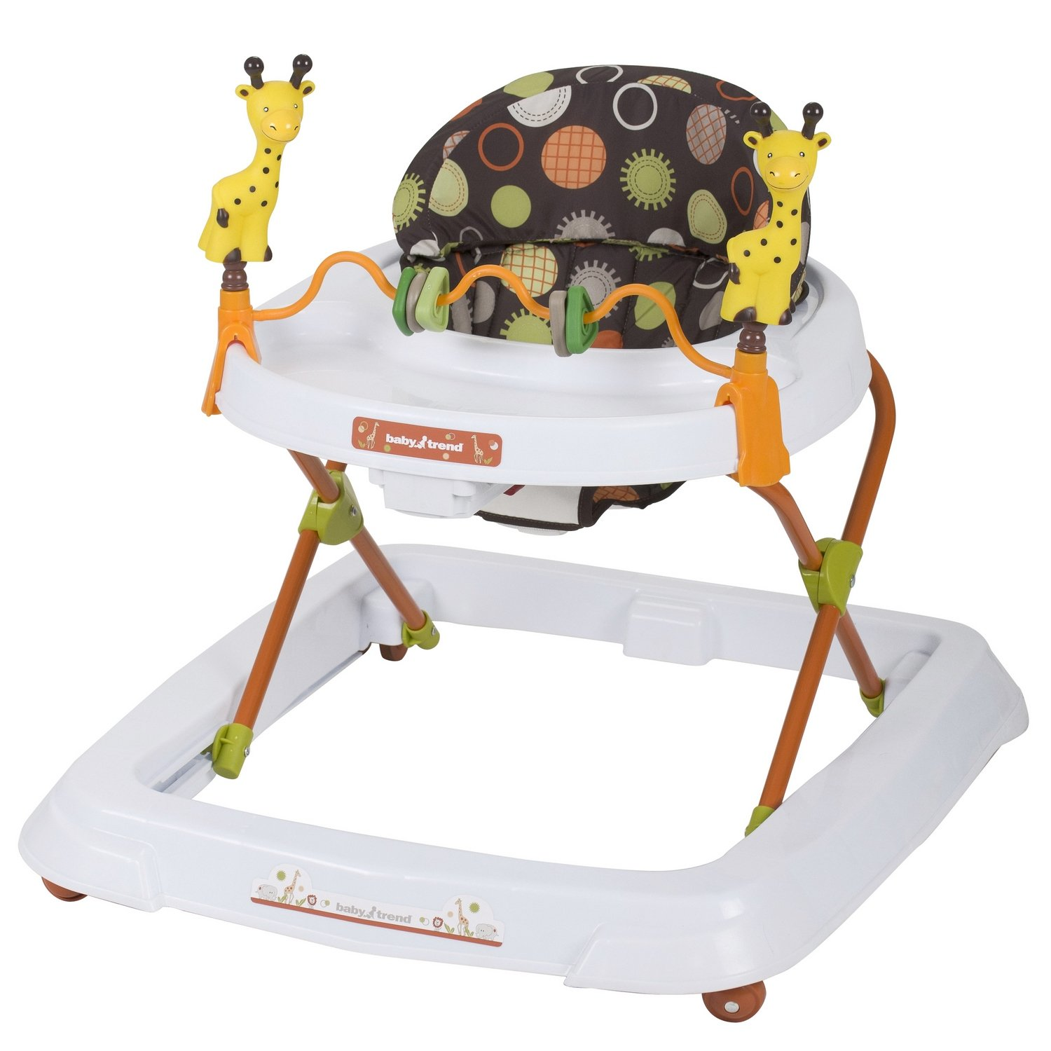 (Baby Trend Walker) and Activity center for Boys & Girls. Learning Walkers First Steeps w Multi-Directional Wheels that Offer Freedom of Movement. 3-Position Height Adjust Superior Support & Stabilit Safari Kingdom Walker