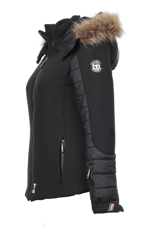 doudoune ski femme avec capuche fourrure