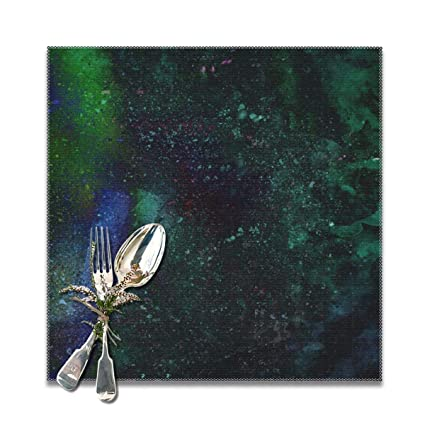 Amazon com: Rigg-Home Placemats Set of 6, Abstract Art