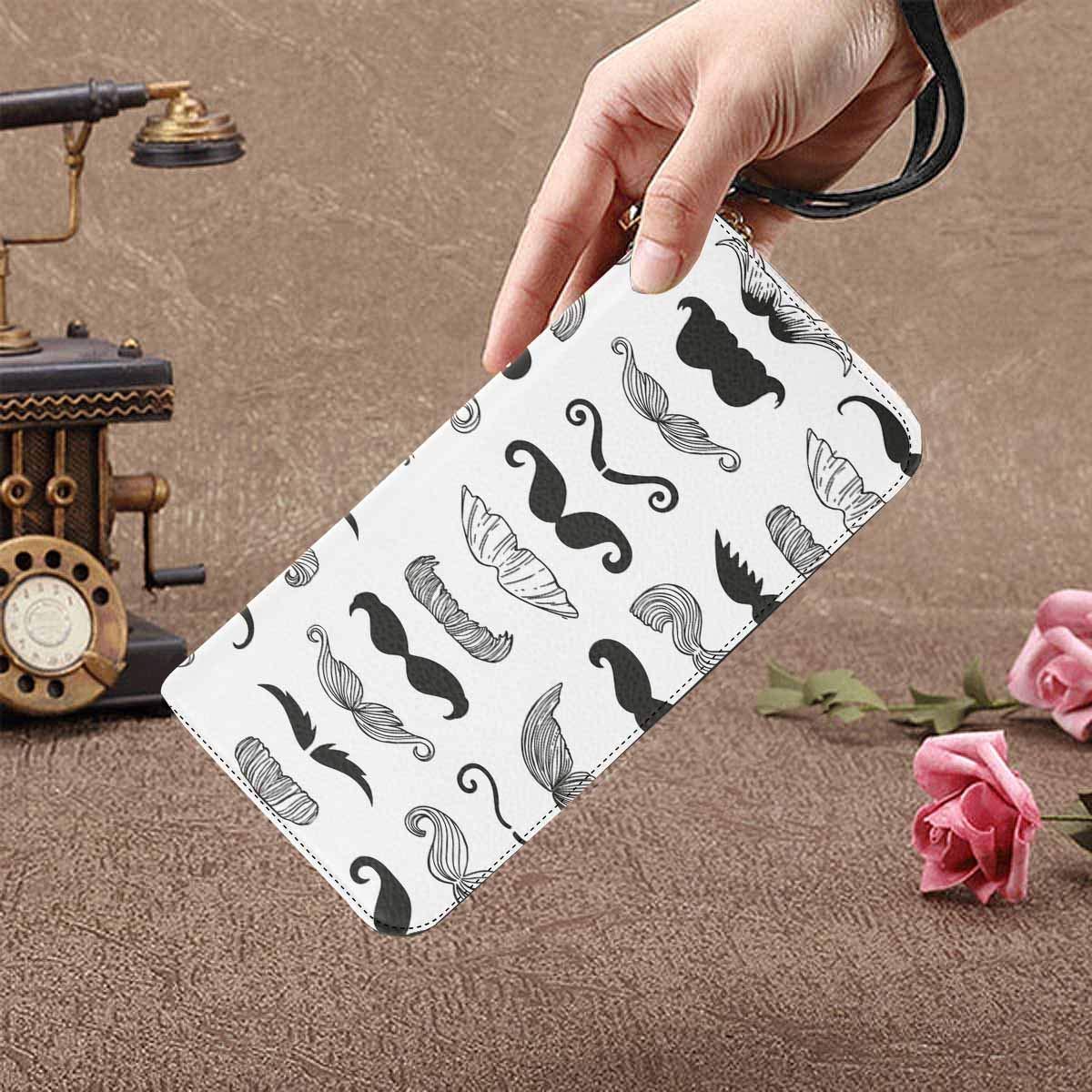 InterestPrint Womens Vintage Wood Hummingbird Butterfly Rose Flowers Clutch Purse Card Holder Organizer Ladies Purse