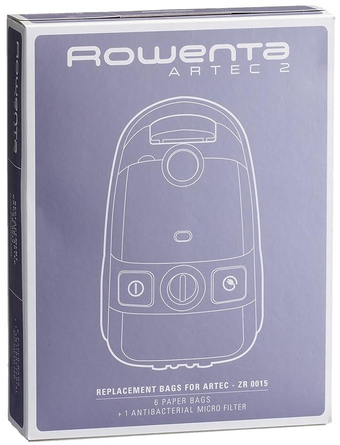 Amazon.com: Rowenta artec2 ZR 0015 Papel Filtro De Repuesto ...