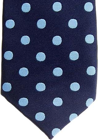Retreez - Corbata de microfibra para niño con lunares, diseño de lunares, varios colores