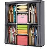 Youud - Clóset de almacenamiento para ropa, portátil, organizador portátil para clóset, ropero, organizador de ropa, organiza